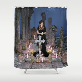 Remembering Loved Ones Shower Curtain