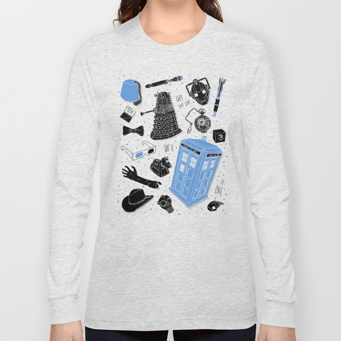 Artifacts: Doctor Who Long Sleeve T-shirt
