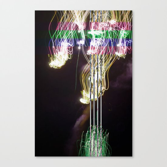 Photon Canvas Print