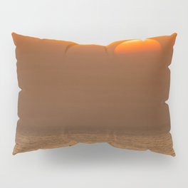 Classic SoCal Sunset Pillow Sham