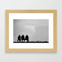 Friendz Framed Art Print