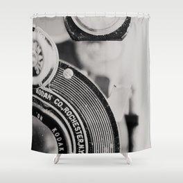 vintage kodak camera #1 Shower Curtain