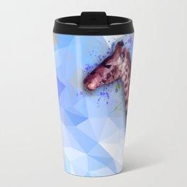 Low poly giraffe Travel Mug