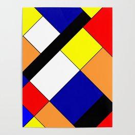 Mondrian #18 Poster