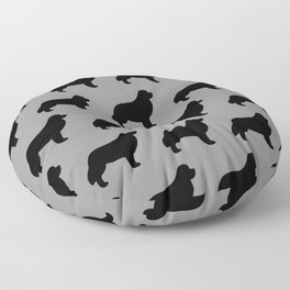 Newfoundland Silhouette Floor Pillow