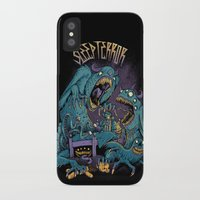 snatch iPhone & iPod Cases featuring Monsters Under The Bed by Sleep Terror Clothing
