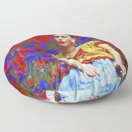 FRIDA dreaming away Floor Pillow