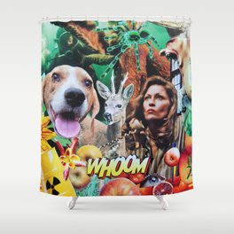Whoom! Shower Curtain