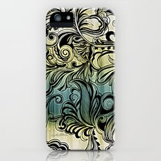 Swirl and Curl iPhone (5, 5s) Slim Case