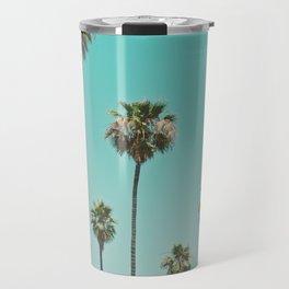 palm trees. las palmeras Travel Mug