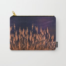 Abstract beach grass Carry-All Pouch