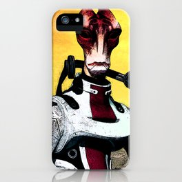 Mass Effect - Mordin Solus iPhone Case