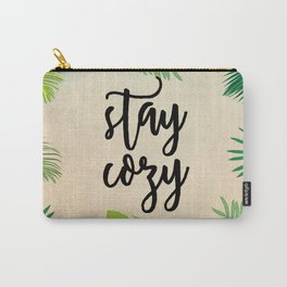Stay Cozy Carry-All Pouch