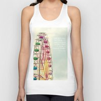 ferris wheel Tank Tops featuring Ferris wheel by Ana Guisado