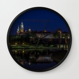 Castle on the Hill. Wall Clock