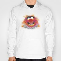muppets Hoodies featuring Animal, The Muppets by KitschyPopShop