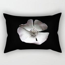 A delicate and sheer rosehip. Rectangular Pillow
