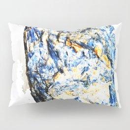 Kyanite crystall Gemstone Pillow Sham