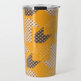Clover&Nessie  Mandarin/Mocha Travel Mug