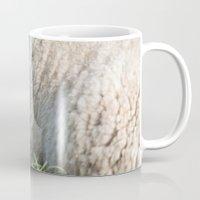 lamb Mugs featuring lamb by Marcel Derweduwen