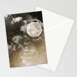 Until we meet again.....{sepia} Stationery Cards