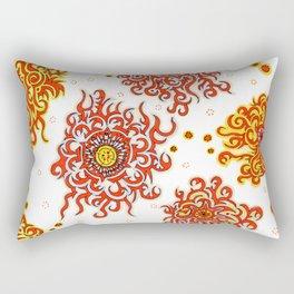 Hand drawn pattern design - Nairobi Rectangular Pillow