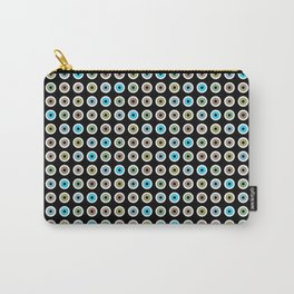 googly eyes pattern Carry-All Pouch