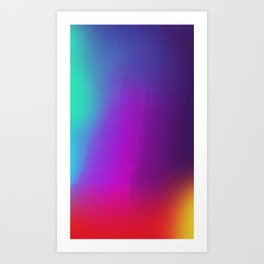 Color Exploration 001 Art Print