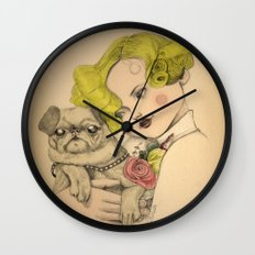Vintage photo Wall Clock