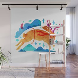 The Jackalopes Wall Mural