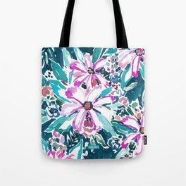 GARDENS OF TIBURON Floral Tote Bag