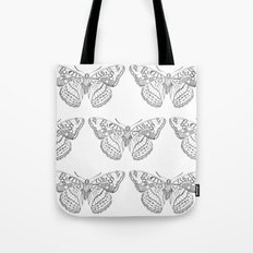 Butterfly dots Tote Bag