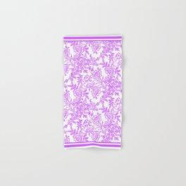Radiant Orchid Tea Reversed Hand & Bath Towel