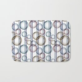 Bubbles 2 Bath Mat