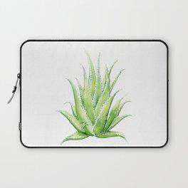 Aloe Vera Watercolor Laptop Sleeve