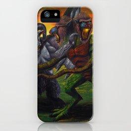 Clash of the Demon Princes iPhone Case