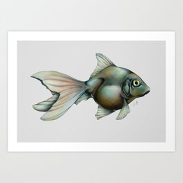 My Mother is a Fish Art Print