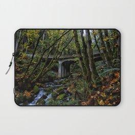 Chuckanut Drive Bridge Laptop Sleeve