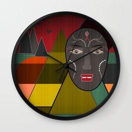Africa . Wall Clock