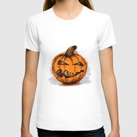 pumpkin T-shirts featuring Pumpkin by rafo