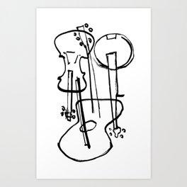 Instrumesh Art Print