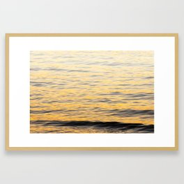 Smoke On The Water Framed Art Print
