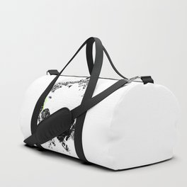 Art Headphones Duffle Bag