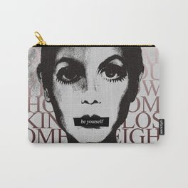 Be Yourself (Ft. Twiggy) Carry-All Pouch