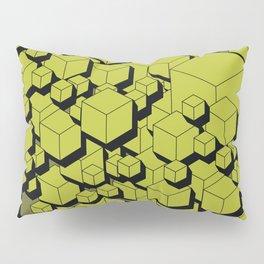 3D Futuristic Cubes V Pillow Sham