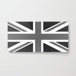 Union Jack Ensign Flag - High Quality 1:2 Scale Metal Print