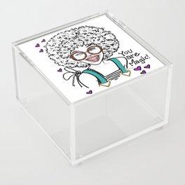 #STUKGIRL LUCIELLE Acrylic Box