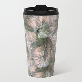 Heathered Grey Intertwine Travel Mug