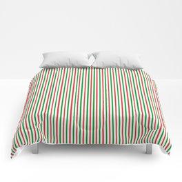 Christmas Time for Stripes Comforters