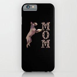 Giant Schnauzer MOM Christmas Dog Snow iPhone Case